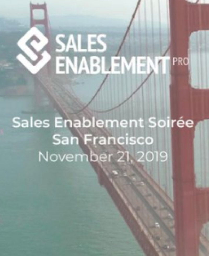 Sales Enablement Soiree