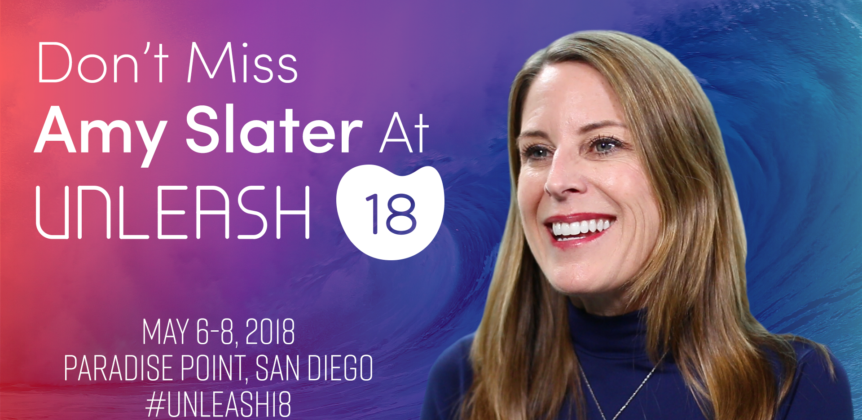 Don't Miss Amy Slater at Unleash 18!