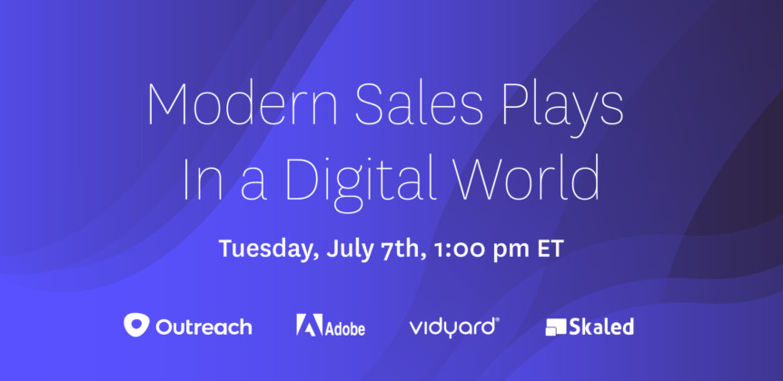 Modern Sales Plays in a Digital World