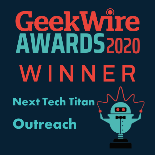 GeekWire Awards 2020 Winner Logo
