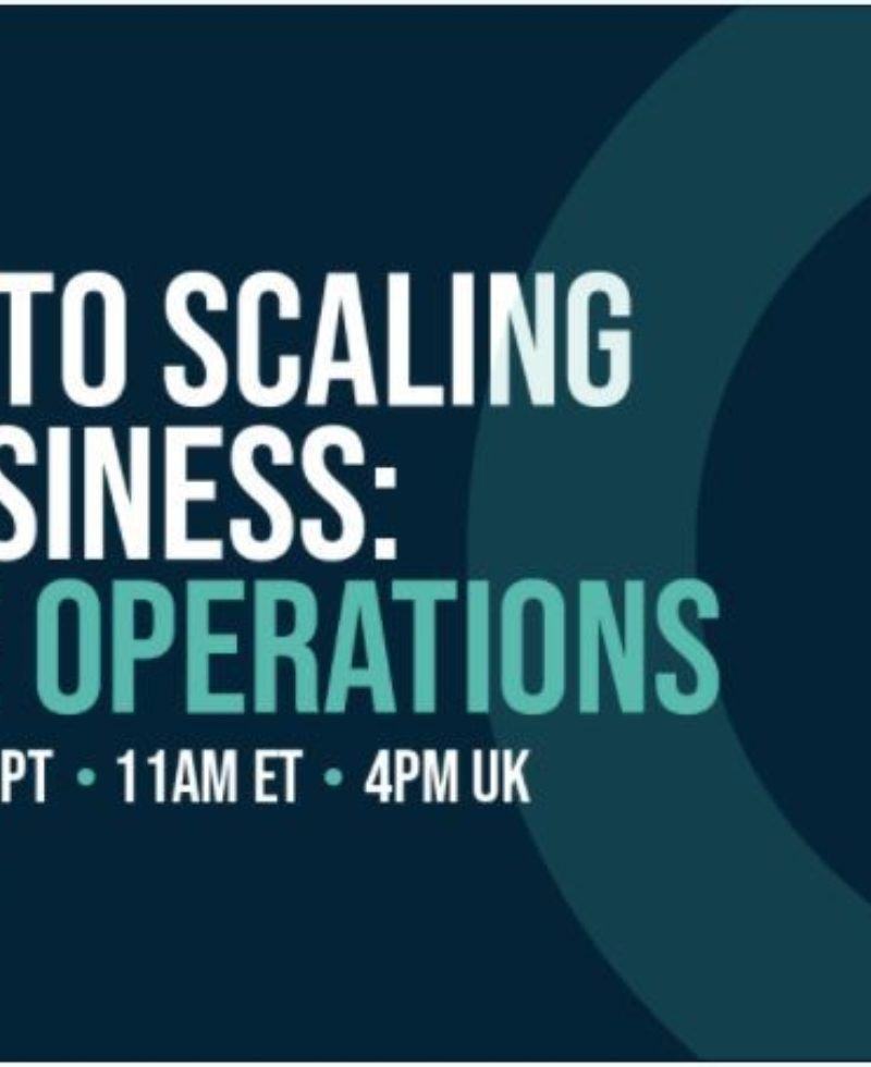 The Key to Scaling Your Business: Revenue Operations