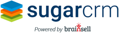 SugarCRM Powered by BrainSell Logo
