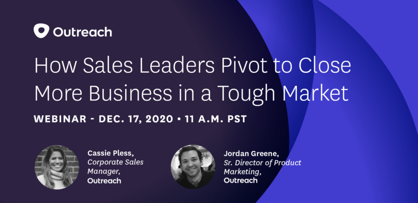How Sales Leaders Pivot to Close More Business in a Tough Market