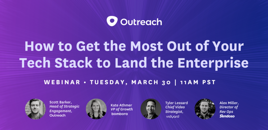 How to Get the Most Out of Your Tech Stack to Land the Enterprise