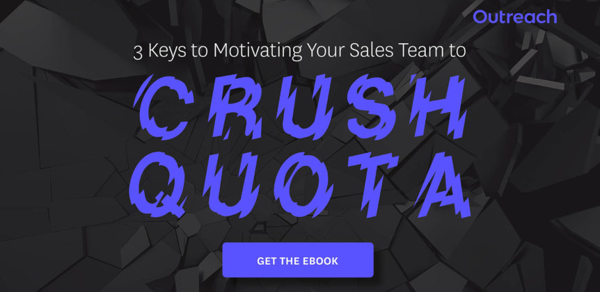3 Keys to Motivating Your Sales Team to Crush Quota
