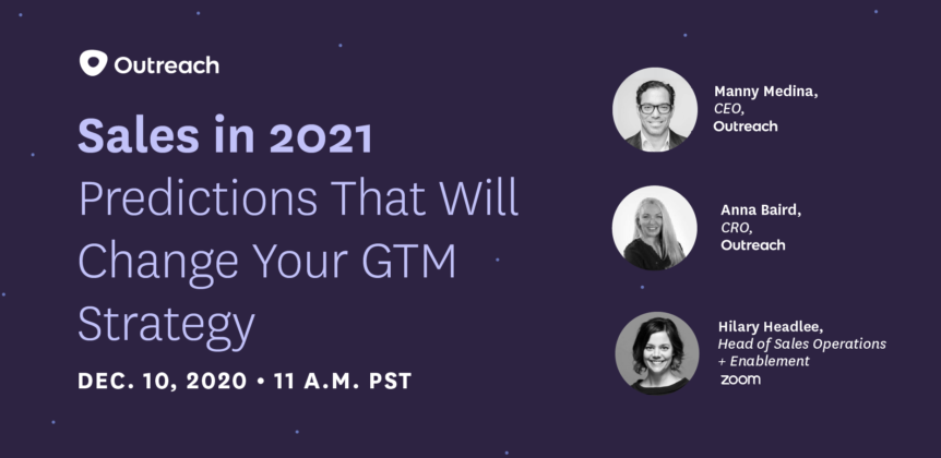 Sales in 2021 - Predictions That Will Change Your GTM Strategy